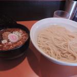 麺屋大斗 - 激辛肉味噌もりそば(中盛)