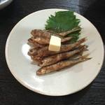 小太郎 - もろこバター焼 800円