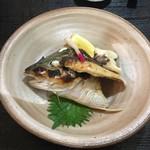 小太郎 - しまアジカマ焼 500円