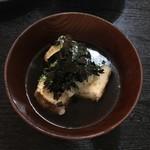 小太郎 - 揚げ出し豆腐 450円