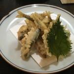 小太郎 - 小鮎の天ぷら 500円