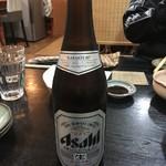 小太郎 - アサヒスーパードライ(中瓶) 550円