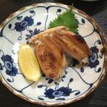 小太郎 - 手羽先塩焼(3切) 500円