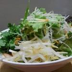 コムフォー - 野菜増し状態