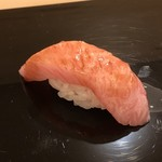 鮨 そえ島 - ◆鮪(対馬)カマトロ部分・・上品な脂を感じ美味しい。