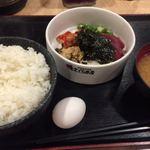 磯丸水産 - ばくだん定食680円