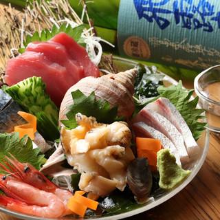 色鮮やかな鮮魚たち*豊洲直送の美味しさをしっぽり味わう◎