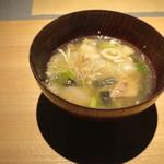 山形座 瀧波 - 瀧波の芋煮汁