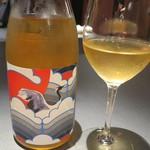 山形座 瀧波 - グレープリパブリックの白ワイン1,200円