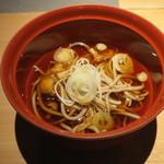 山形座 瀧波 - 社長の手打ち十割蕎麦