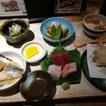 魚食処 一豊 - 季節の彩り定食