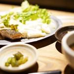 貝料理専門店 貝しぐれ - 鮭きのこバター定食☆