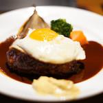 ビストロ文化洋食店 - ハンバーグランチ☆ デミソース☆