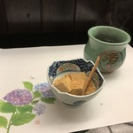 旬楽幸味 - デザートは、自家製わらび餅です(2018.6.25)