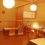 魚の蔵 - 白木造りの落ち着いた雰囲気の座敷で、熊野灘の幸を味わって下さい。