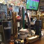Irish Pub An SOLAS - ビールのタップがいくつも!