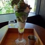 辻利兵衛本店 - お濃茶パフェ