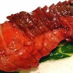 銀座 麒麟 - イベリコ豚肩ロースの蜜たっぷりの釜焼き叉焼