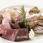 特選3種肉グリル盛り合わせ