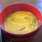 ラッキー食堂 - もやしの味噌汁