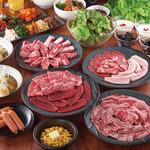 国産牛焼肉くいどん - 満腹ファミリーセット