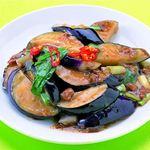 台湾料理故宮 - 茄子の肉味噌炒め