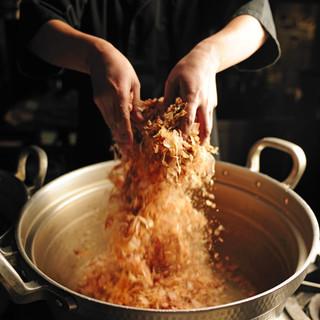 えんこだわりの【出汁】日本料理は出汁の旨さで決まる