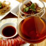 台湾料理故宮 - 紹興酒腸詰め