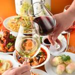 台湾料理故宮 - ワインと料理