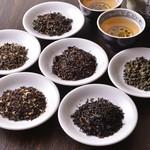 台湾料理故宮 - 台湾茶葉色々