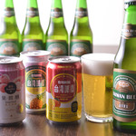 台湾料理故宮 - 台湾ビール色々