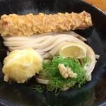 88189712 - ちく玉天ぶっかけ(麺1.5玉)