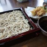 日本蕎麦 籠家 - 天せいろ蕎麦