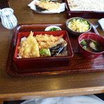 日本蕎麦 籠家 - 天重セット