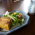 日本蕎麦 籠家 - 厚焼き卵