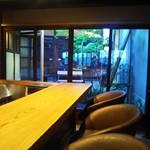 Ichikawayakohi - 素敵なカウンター席❗こちらがお気に入り
