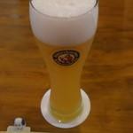 茶房瑠 - ヴァイチェンドイツビール(白生) 300cc 650円