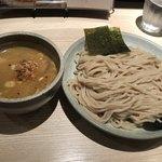88198887 - 渡り蟹のつけ麺@880円