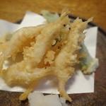 蕎麦ひら井 - 天麩羅