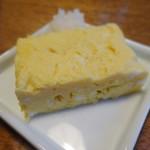 蕎麦ひら井 - 卵焼き