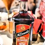 バンゲラズ キッチン - McDowell's rum bottle¥9000