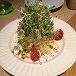 ON THE TABLE - ぷるぷる玉子のポテトサラダ650円
