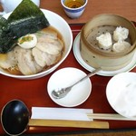 双喜亭 - 本日のおすすめ麺セット