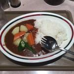88208815 - 野菜カレー大盛り。