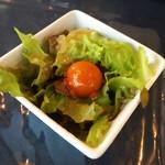 太陽カレー - ご飯小にするとミニサラダがついてくる!