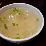 プーアン - スープ