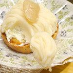 ふじや菓子舗 - 料理写真:白花豆もんぶらん320円税込