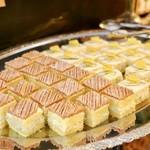 テーブル ビート - ブロッコリーのモンブラン、かぶとパイナップルのレアチーズケーキ@MVP