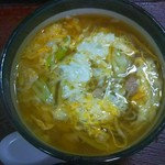 やま田食堂 - 料理写真:親子そば(620円)