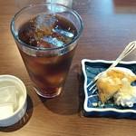 酒食処 出義R - 食後のコーヒーとデザート(2018.06.25)